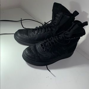 used Air Force 1 SF All black